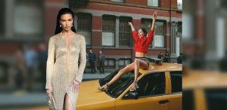 Adriana Lima Makyajsız Haliyle Göz Kamaştırdı