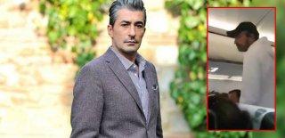 Erkan Petekkaya'nın Uçaktaki Zor Anları: Ben Yapmadım!