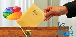 Orc ve Piar Anket Şirketlerinin 31 Mart 2019 Yerel Seçim Son Seçim Anketleri