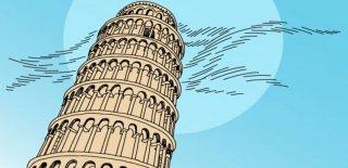 Pisa Kulesi'ne Rakip Olabilecek Dünyadaki 10 Eğimli Kule