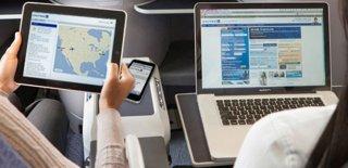 Uçakta İnternet Kullandı Hayatının Şokunu Yaşadı