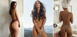 Emily Ratajkowski Bikiniden Vazgeçmiyor!