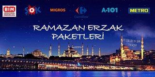 Ramazan Erzak Koli Fiyatları-Carrefour, Bim, Migros, Metro, A101...