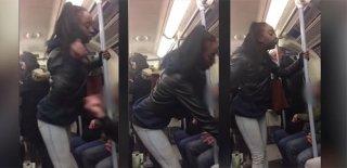 Sarhoş Kadın, Eşcinsel Olduğunu İddia Ettiği Adama Saldırdı!