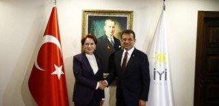 Ekrem İmamoğlu Meral Akşener ile Görüştü