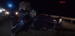 Kırıkkale'de Kaza: 1 Ölü 4 Yaralı