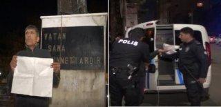 İş İstemek İçin Kendisini Atatürk Heykeli'ne Zincirledi!