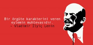 Vladimir Lenin Sözleri -  Anlamlı, Etkileyici, Resimli Vladimir Lenin Devrimci Sözleri