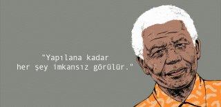 Nelson Mandela Sözleri - Nelson Mandela' Özgürlük ile İlgili En Güzel, Anlamlı Resimli Sözleri