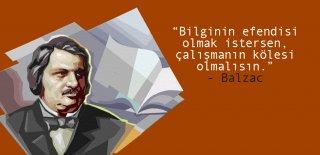 Balzac Sözleri, Honere de Balzac'a Ait En Güzel, Anlamlı Kitaptan Alıntı Sözleri