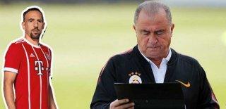 Ribery'den Fatih Terim'e Transfer Mesajı! Şov Yaparım