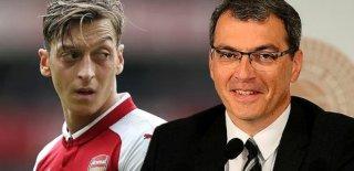 Fenebahçe Sportif Direktörü Comolli'den Mesut Özil İtirafı