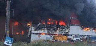 Kocaeli Çayırova'da Fabrikada Yangın Çıktı! 5 Kişi Can Verdi