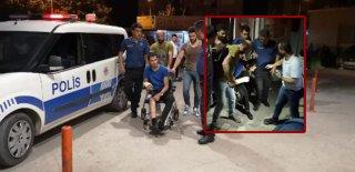 Aksiyon Dolu Aile! Polisten Kaçarken Yakalandılar Hastaneden de Kaçmaya Çalıştılar
