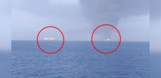 Kaza mı Saldırı mı? Umman Körfezi'nde Korku Dolu Anlar! 2 Patlama Meydana Geldi!