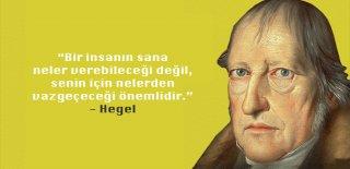 Goerg Wilhelm Hegel Sözleri - En Güzel, Anlamlı, Manalı, Özlü ve Resimli Hegel Sözleri