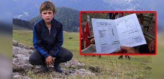 Trabzon Şehidi Eren Bülbül'ün Karnesi Ailesine Verildi
