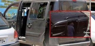 Araçtan Para Çalıp Peşlerine Düşen Polisle Çatıştılar!