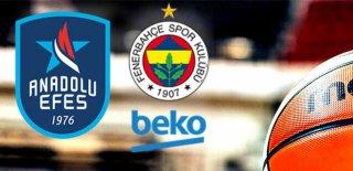 Ceza Ertelendi! Fenerbahçe Taraftarları, Anadolu Efes Maçına Gidebilecek!