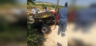Gaziantep'te Traktör Devrildi! 1 Ölü 2 Yaralı