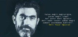 Ümit Yaşar Oğuzcan Sözleri - En Güzel Ümit Yaşar Oğuzcan Şiirleri