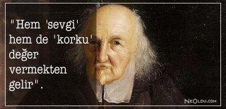 Thomas Hobbes Sözleri, Eserleri - Thomas Hobbes Eserlerinden Romantik, Etkileyici ve Özlü Sözler