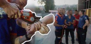 Bir Garip Olay! Polis Taktı, AFAD Çıkarttı!