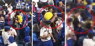 Böyle Babalık Olmaz! Beyzbol Maçında Çocuğunu Sopa Olarak Kullandı!