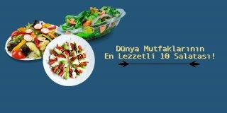 Zayıflamaya Karar mı Verdiniz? İşte Dünya Mutfaklarının Diyete Uyumlu ve Lezzetli 10 Salatası!