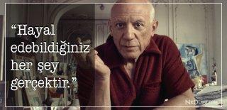 Pablo Picasso Sözleri, Eserleri - Pablo Picasso Anlamlı, Etkileyici ve Özlü Sözleri
