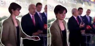 CHP İstanbul İl Başkanı Canan Kaftancıoğlu'nun O Hareketi Sosyal Medyayı Salladı!