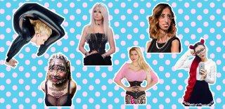 Bu Kadınlar Bir Başka! Gözlerinize İnanamayacağınız 10 İlginç Kadın!