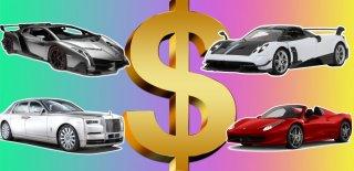 Bu Fiyatlar Dudak Uçuklatıyor! İşte Dünyanın En Pahalı 10 Arabası!