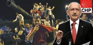 Kemal Kılıçdaroğlu ve CHP Resmi Hesaplarından 15 Temmuz'un Yıldönümünde Demokrasi Şehitlerine Büyük Ayıp!