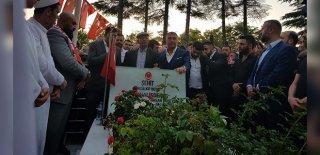 Sedat Peker, Şehit Ömer Halisdemir'in Kabri Başında Konuştu!