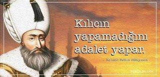 Kanuni Sultan Süleyman Sözleri, Eserleri - Eserlerinden Romantik, Etkileyici ve Özlü Sözler