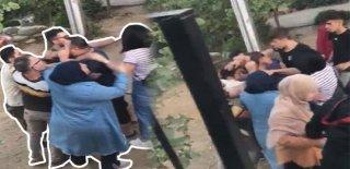 Çocukları Parkta Taciz Etti, Mahalleliden Meydan Dayağı Yedi! İşte O Görüntüler...