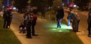 Bayram Gününü Kana Buladı! Sokak Ortasında Eşine Kurşun Yağdırdı!