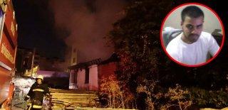 Bursa'da Akıllara Durgunluk Veren Olay! Bakın Annesinin Evini Neden Ateşe Vermiş!