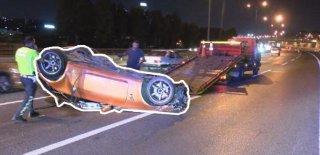 Ambulansa Yol Vermemişti! Makas Atarak Giderken Kazaya Neden Oldu! İşte Kan Donduran Görüntüler...