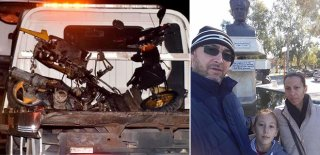 Motosiklete Binen Bir Aile Yok Oldu! Bakın Nereden Geliyorlardı! Yürekleri Burkan Olay…