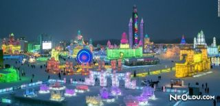 Harbin Buz ve Kar Heykeli Festivali (Harbin Ice & Snow Sculpture Festival)