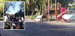 Çocuğunun Önünde Eski Eşini 10 Yerinden Bıçakladı! Polis Linçten Kurtardı…