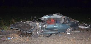 Aydın'da Feci Kaza! Biçerdöver 3 Otomobille Çarpıştı: 2 Ölü 5 Yaralı