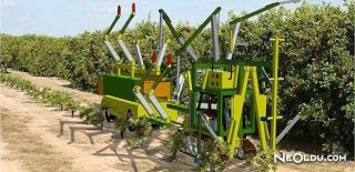Çiftliklerde Zirai Robot Devri