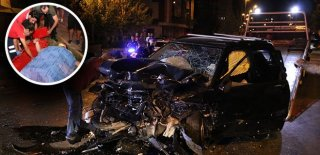 Antalya'da Dehşet Veren Kaza! Üç Araç Birbirine Girdi: 2 Ölü 6 Yaralı