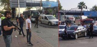 Adana'da Polis Aracına Bombalı Saldırı! Biri Polis 5 Kişi Yaralandı