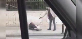 Sokak Ortasında Tartıştığı Adama Kurşun Yağdırdı! Kan Donduran Görüntüler!