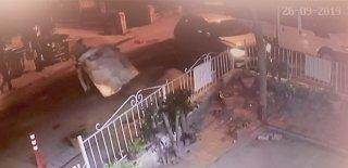 Alkollü Sürücü Yerde Yatan Adamı Böyle Ezdi! Maltepe'de Şaşırtan Anlar…