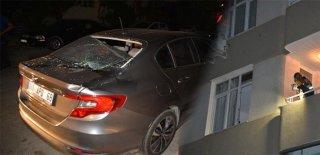 Ölmekten Şans Eseri Kurtuldu! İkinci Kattan Arabanın Üstüne Düşen Kız Ağır Yaralandı